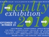 Faculty Exhibition 2010 postcard